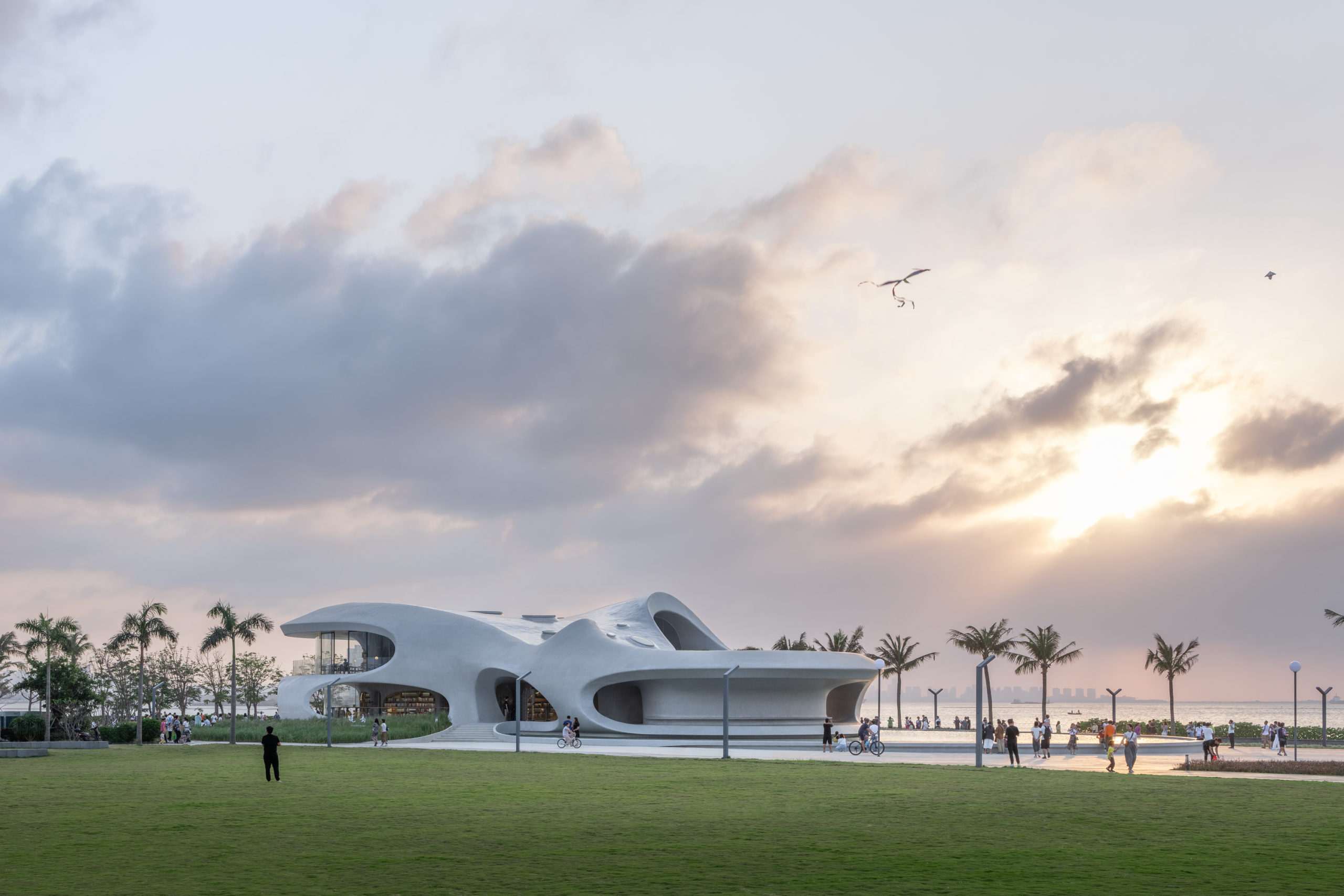 The Cloudscape of Haikou by MAD Architects, Haikou, China