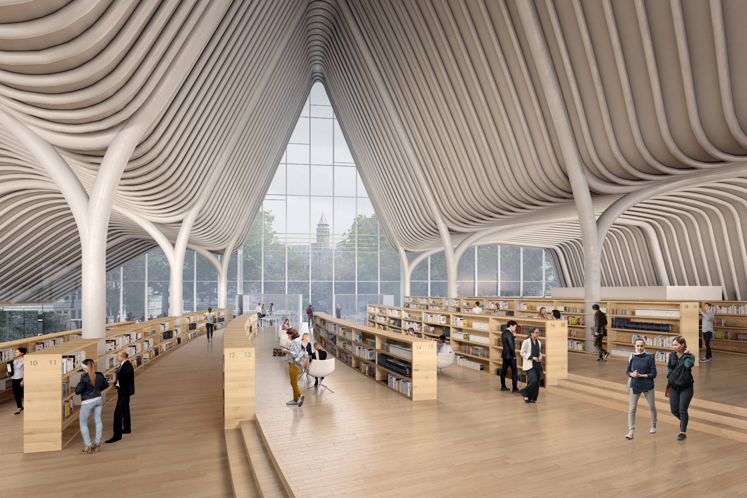 The Golden Horn Library by Aytac Architects, Istanbul, Turkey